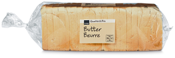 Coop Buttertoast, 2 x 500 g, Duo (100 g = 0.37)