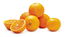 Oranges demi-sanguines Tarocco, Italie, le filet de 2 kg (1 kg = 1.48)