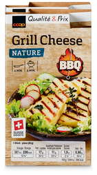 Grill cheese Coop BBQ Nature, 4 x 80 g, duo (100 g = 1.41)