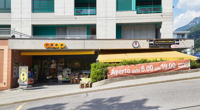 Supermercato Coop Lugano Pregassona